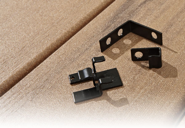 Mantis deck clip system bb sales group for Modern view decking